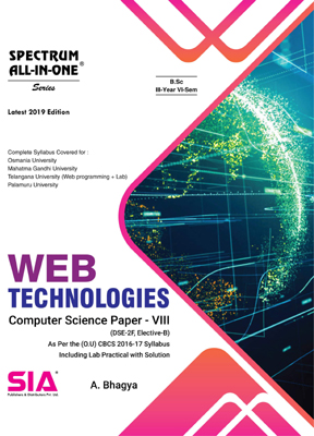 Web Technologies (Computer Science Paper-VIII)