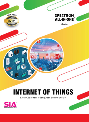 Internet of Things (Open Elective)