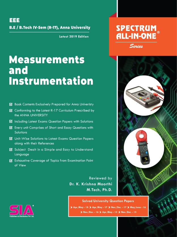 Measurements and Instrumentation (Anna University)