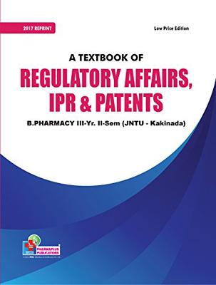 REGULATORY AFFAIRS, IPR AND PATENTS