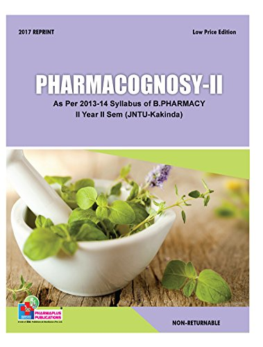Pharmacognosy-II