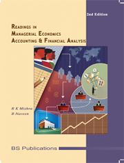 Readings in Managerial Economics, Accounting and Financial Analysis