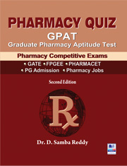 Pharmacy Quiz: GPAT-Graduate Pharmacy Aptitude Test