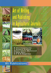Art of Writing and Publishing in Agricultural journals