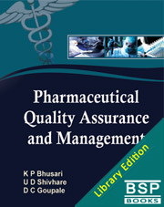 Pharmaceutical Quality Assurance and Management