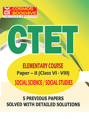 CTET - SOCIAL STUDIES  - ENGLISH -  5 PREVIOUS PAPERS & MODEL PAPERS
