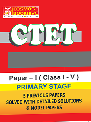 CTET - PRIMARY - ENGLISH -  5 PREVIOUS PAPERS & MODEL PAPERS
