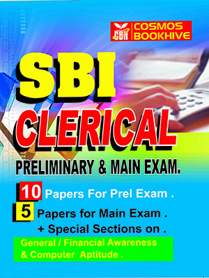 SBI CLERICAL MAIN EXAM - 5 MOCK  TEST PAPERS