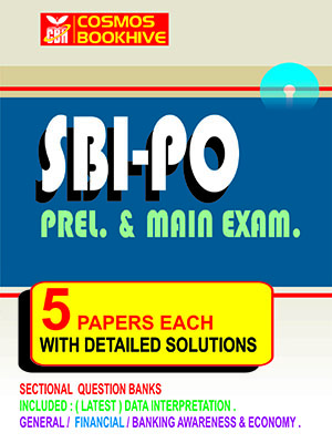 SBI PO MAIN EXAM -  5 MOCK TEST PAPERS
