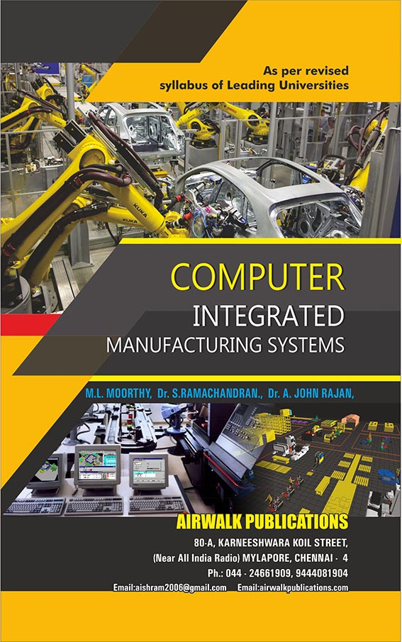 Computer Integrated Manufacturing Systems