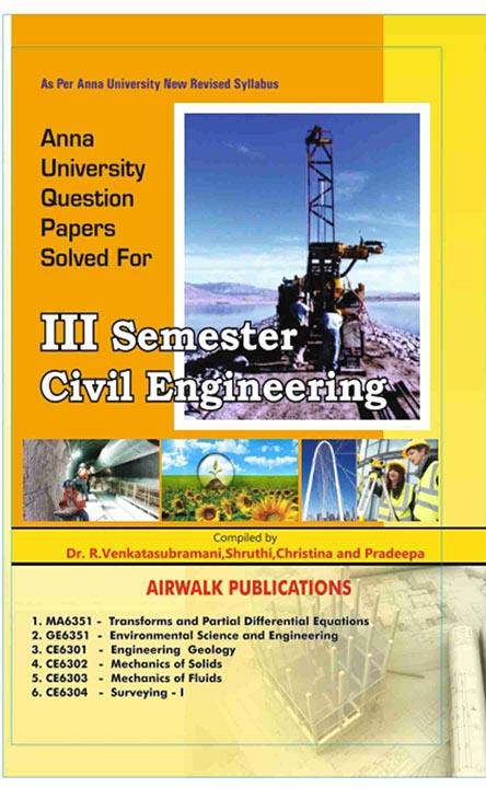 3rd Sem Civil engineering  Question Bank