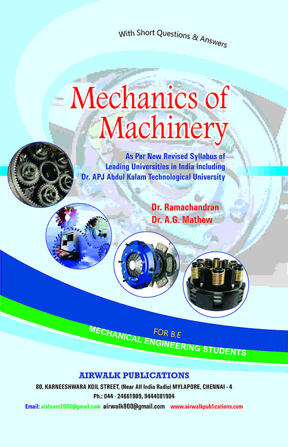 Mechanics of Machinery - KL