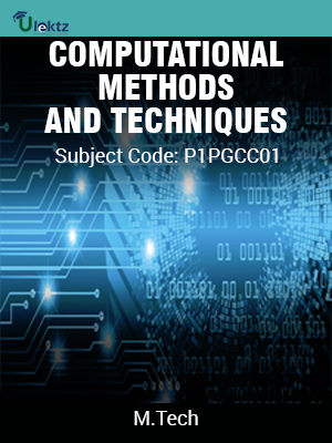 COMPUTATIONAL METHODS AND TECHNIQUES