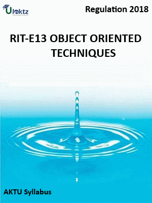 Object Oriented Techniques_Syllabus