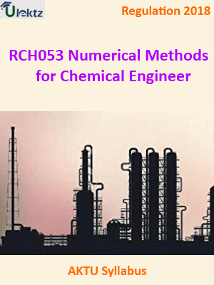Numerical Methods for Chemical Engineer_Syllabus