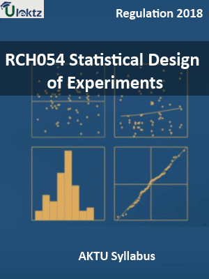 Statistical Design of Experiments_Syllabus