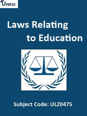Laws Relating to Education
