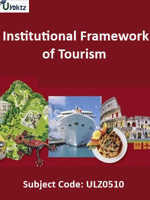 Institutional Framework of Tourism