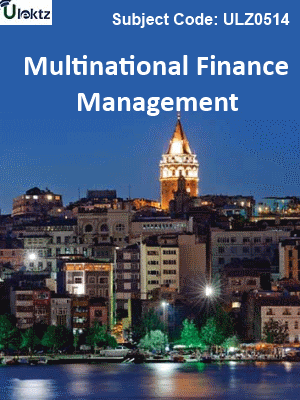 Multinational Finance Management