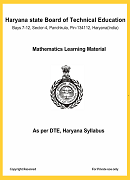 Mathematics Learning Material