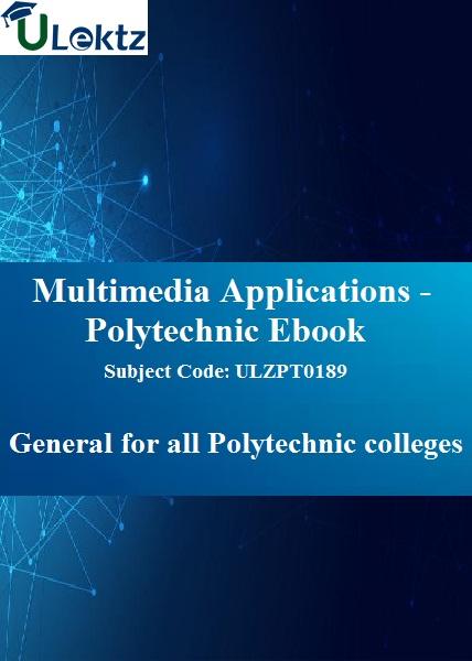 Multimedia Applications - Polytechnic Ebook