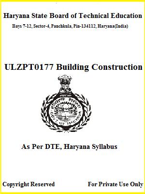 Building Construction - Polytechnic Ebook