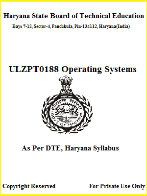 Operating Systems - Polytechnic Ebook