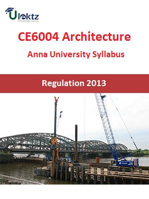 Architecture Syllabus