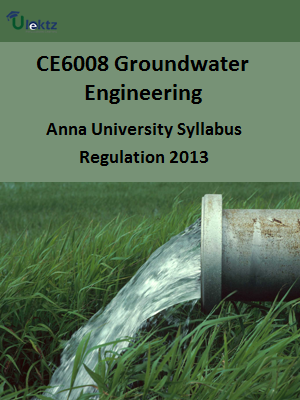 Groundwater Engineering Syllabus