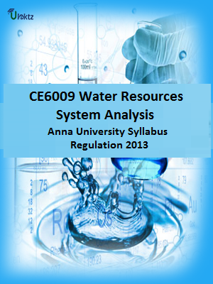 Water Resources Systems Analysis Syllabus