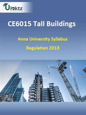 Tall Buildings Syllabus