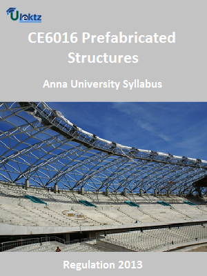 Prefabricated Structures Syllabus
