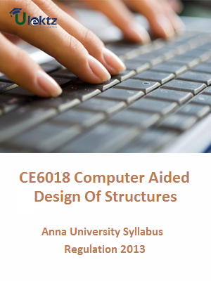 Computer Aided Design of Structures Syllabus