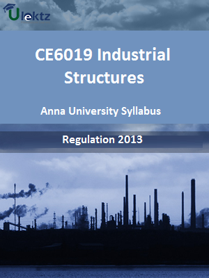 Industrial Structures Syllabus