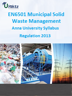 Municipal Solid Waste Management Syllabus