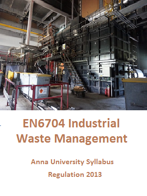 Industrial Waste Management Syllabus