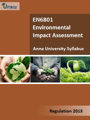 Environmental Impact Assessment Syllabus