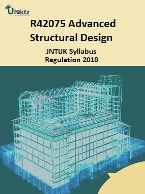 Advanced Structural Design Syllabus