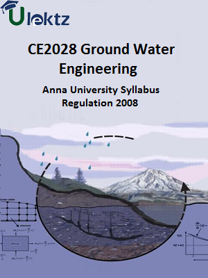 Ground Water Engineering Syllabus