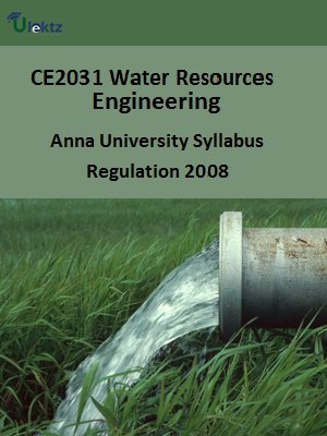 Water Resources Engineering Syllabus