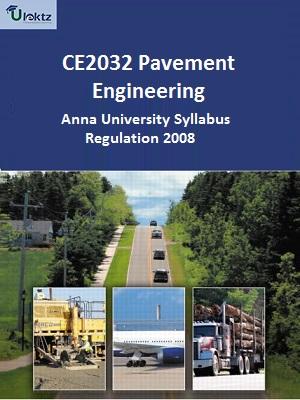 Pavement Engineering Syllabus