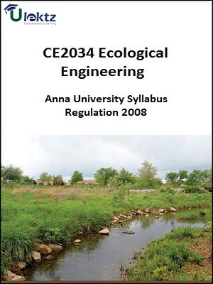 Ecological Engineering Syllabus