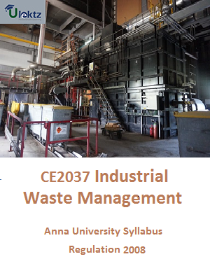 Industrial Waste Management Syllabus