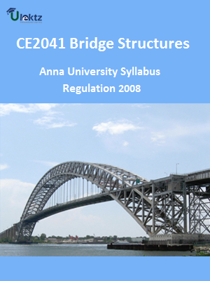 Bridge Structures Syllabus