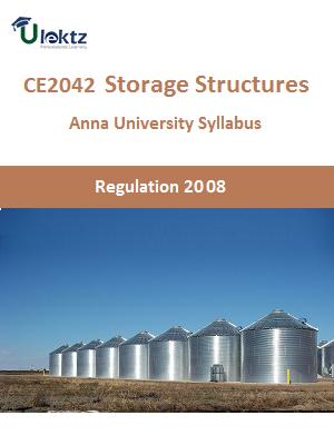 Storage Structures Syllabus