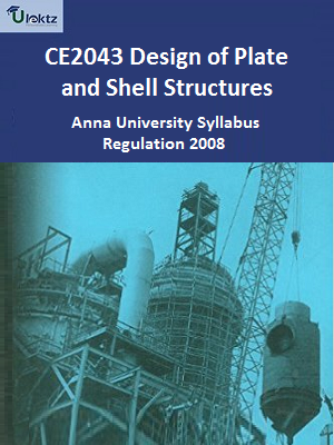 Design of Plate and Shell Structures Syllabus