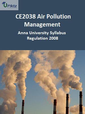 Air Pollution Management Syllabus