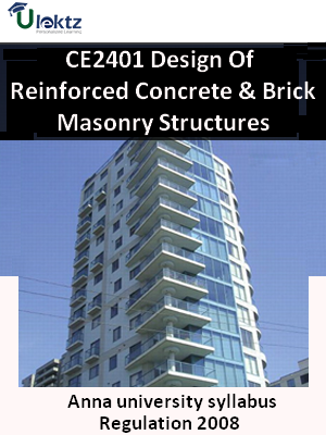 Design Of Reinforced Concrete & Brick Masonry Structures Syllabus