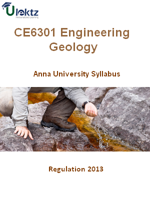 Engineering Geology Syllabus
