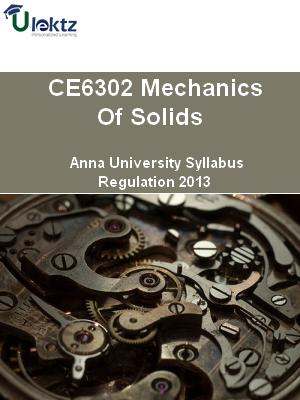 Mechanics Of Solids Syllabus